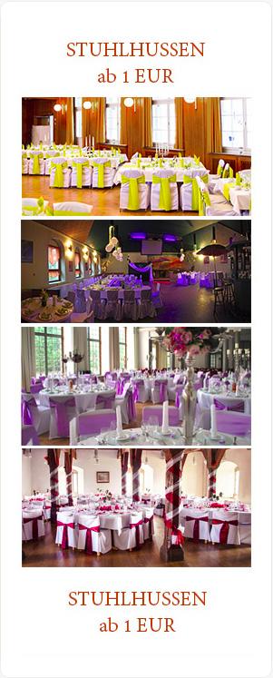 Schöne Hochzeitsdeko und Tischdekoration für Hochzeit in Hamburg, Köln und Dortmund leihen