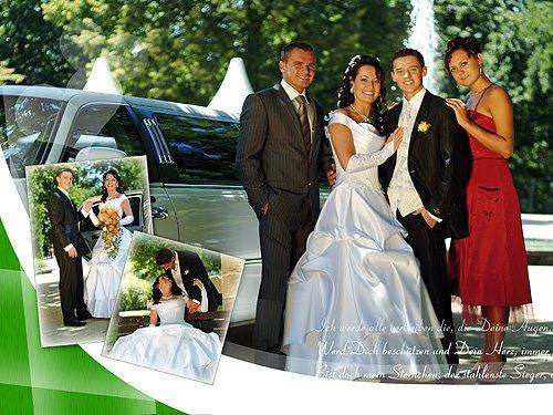Hochzeitsfoto, russische Hochzeit