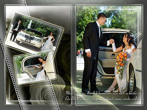 Hochzeitsfoto, deutsch-russische Hochzeit