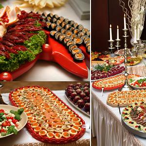 Russische Hochzeit - Partyservice