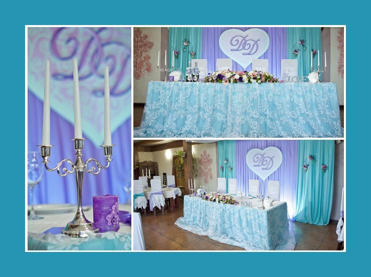 Dekorierter Tisch Kerzenhalter Hochzeit Brauttisch Hintergrund