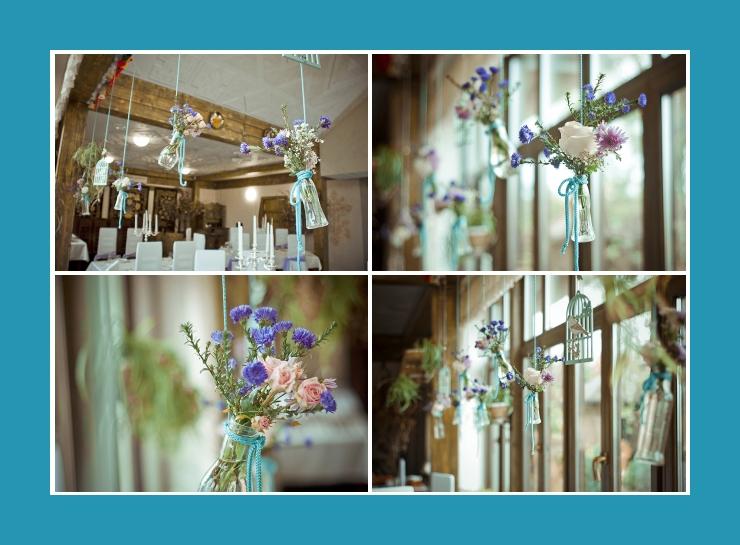 Raum mit Blumen dekorieren Hochzeit Geburtstag Kommunion Konfirmation Taufe