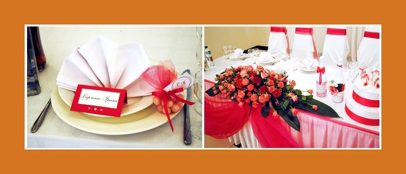 Servietten falten Fächer mit Hochzeitsmandeln pink