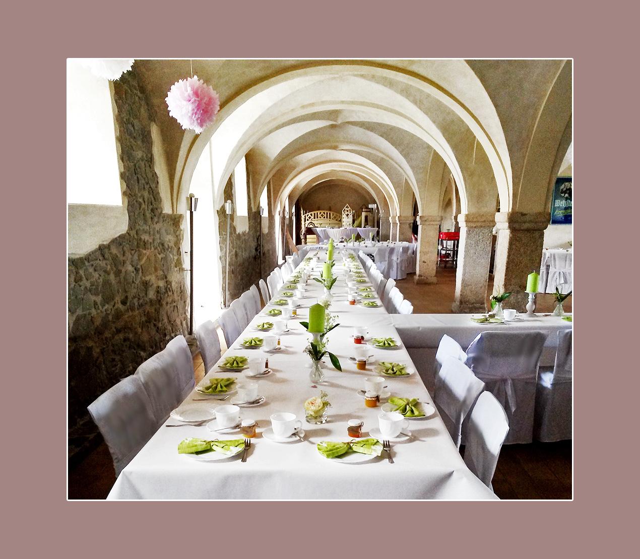 Hochzeitslocation / Hochzeitssaal - Rittergut Planschwitz, Umgebung Hof, Plauen